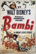 DONNIE DUNAGAN Signed BAMBI 11x17 Poster Photo PSA/DNA COA Proof Pic Autograph