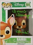 Donnie Dunagan Signed Funko Pop w/ PSA/DNA COA - Disney Bambi - Actor Autograph