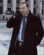 Donnie Wahlberg Blue Bloods Signed 11x14 Photo Psa/dna #y18701