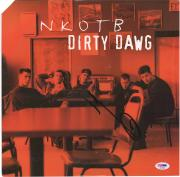 Donnie Wahlberg New Kids On the Black Autographed Dirty Dawg Album - BAS