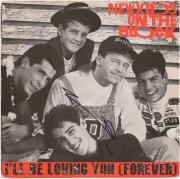 Donnie Wahlberg New Kids On the Black Autographed I'll Be Loving You Album - BAS