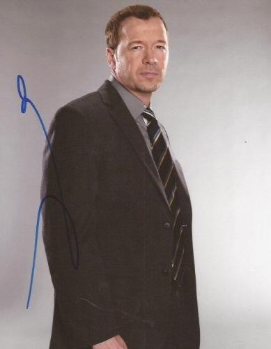 Donnie Wahlberg signed Blue Bloods 8x10 photo autographed Danny Reagan 2