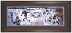 Donovan McNabb Philadelphia Eagles Framed Unsigned Panoramic Photograph - Mounted Memories