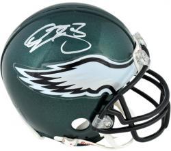 Philadelphia Eagles Donovan McNabb Signed Mini Helmet