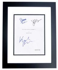 Don't Trust the B in Apartment 23 Autographed Script Cover by Krysten Ritter, Dreama Walker, and James Van Der Beek BLACK CUSTOM FRAME