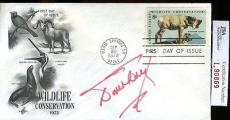 Doris Day Jsa Authenticated Signed Fdc Certed Autograph