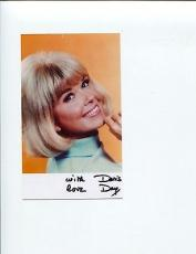 Doris Day Man Who Knew Too Much Pillow Talk Calamity Jane Signed Photo