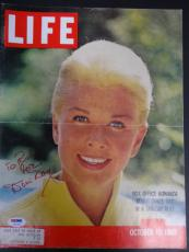 Doris Day Signed 11x14 Life Magazine Cover Autograph Auto PSA/DNA Y66748