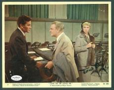 Doris Day Signed 8x10 Love Me or Leave Me 1955 JSA Authenticated HOT RARE