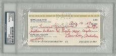 Doris Day Signed Authentic Autographed Check Slabbed 1969 (PSA/DNA) #83436232
