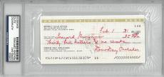 Doris Day Signed Authentic Autographed Check Slabbed PSA/DNA #83436233