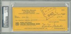 Doris Day Signed Authentic Autographed Check Slabbed PSA/DNA #83436467