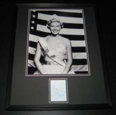 Doris Day Signed Framed 16x20 Photo Poster Display JSA