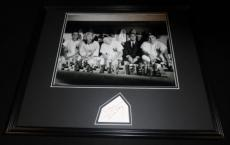 Doris Day Signed Framed 16x20 Photo Display That Touch of Mink w/ Mantle JSA B