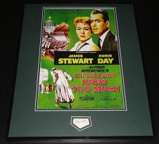Doris Day Signed Framed 16x20 The Man Who Knew Too Much Photo Poster Display JSA