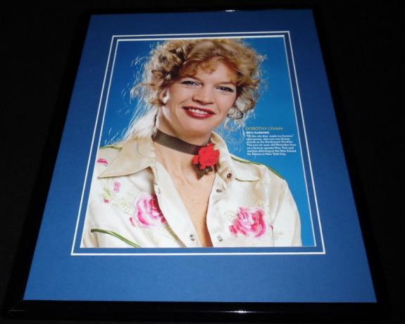 Dorothy Lyman as Opal Gardner Framed 11x14 Photo Display All My Children