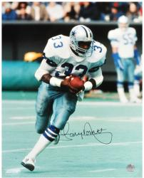 "Tony Dorsett Dallas Cowboys Autographed 16"" x 20"" Running Photograph"