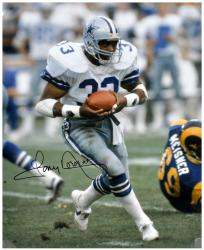 Tony Dorsett Signed Photo - 16x20 Mounted Memories