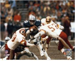 "Tony Dorsett Dallas Cowboys Autographed 8"" x 10"" vs Washington Redskins Photograph"