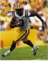 "Early Doucet LSU Tigers Autographed 8"" x 10"" Photograph with ""#9 07 Champs"" Inscription - Mounted Memories"