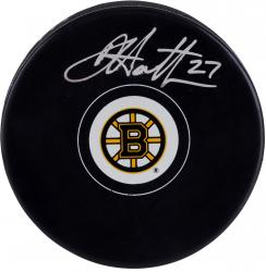 Dougie Hamilton Boston Bruins Autographed Hockey Puck