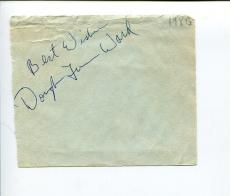 Douglas Turner Ward Broadway Actor Author Playwright Signed Autograph