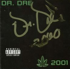 Dr. Dre Signed Autographed Dre 2001 CD Booklet PSA/DNA Authentic