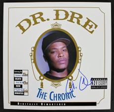 "Dr. Dre Signed ""The Chronic"" Album Cover Autographed PSA/DNA #AB00855"