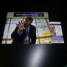 Dr. Neil Degrasse Tyson Signed 8x10 Photo Astrophysicist Jsa Authenticated Rare
