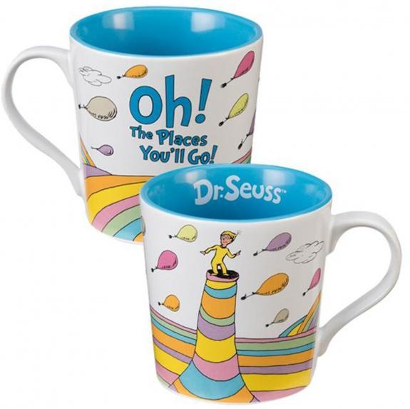 Dr. Seuss Oh, the Places You'll Go! 12oz. Ceramic Mug