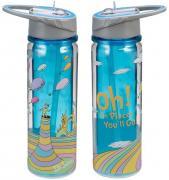 Dr. Seuss Oh, the Places You'll Go! 18oz. Tritan Water Bottle