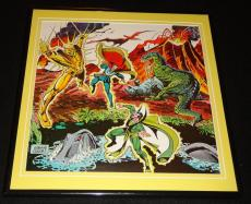 Dr Strange 1980 Sise-Neg Genesis ORIGINAL Framed 12x12 Marvel Poster