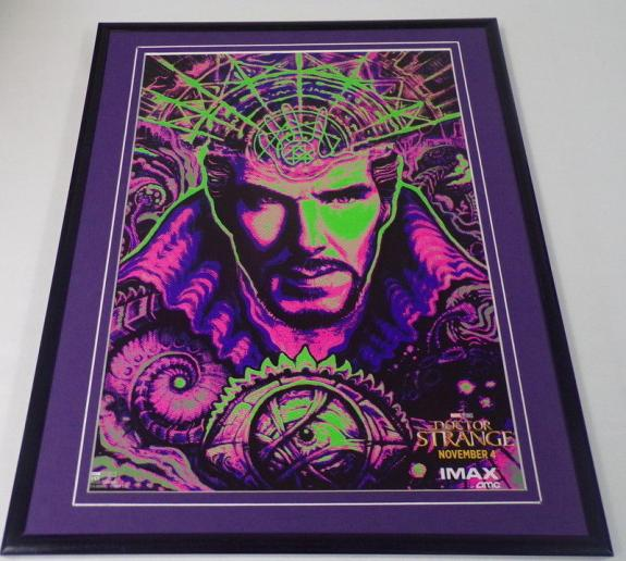 Dr Strange Framed 11x14 Poster Display Benedict Cumberbatch