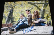DR WHO Matt Smith Karen Gillan Arthur Darvill signed 11 x 14, PSA/DNA LOA *RARE*