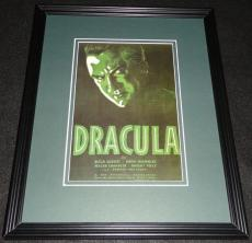 Dracula Framed 11x14 Poster Display Official Repro Bela Lugosi