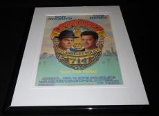 Dragnet 1987 11x14 Framed ORIGINAL Vintage Advertisement Dan Aykroyd Tom Hanks