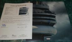 "Drake Aubrey Graham Cash Money Signed Autograph ""views"" Album Vinyl Rare Jsa Loa"