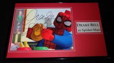 Drake Bell Signed Framed 11x17 Photo Display Ultimate Spider-Man