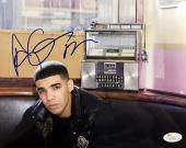 "Drake Drizzy "" Aubrey Graham "" Signed 8x10 Photo JSA"