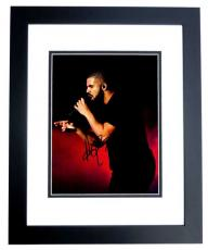 Drake Signed - Autographed Rapper - Actor 11x14 inch Photo BLACK CUSTOM FRAME - aka Aubrey Graham - Guaranteed to pass PSA/DNA or JSA