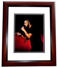 Drake Signed - Autographed Rapper - Actor 11x14 inch Photo MAHOGANY CUSTOM FRAME - aka Aubrey Graham - Guaranteed to pass PSA/DNA or JSA