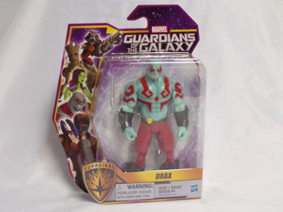 "Drax 2015 Mattel Guardians of the Galaxy 5.5"" Action Figure NEW SEALED"