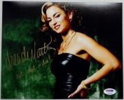"Drea De Matteo SIGNED 8x10 Photo SOPRANOS SOA AUTOGRAPH PSA/DNA ""eat **** n die"