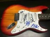 Dream Theater Band Signed Autographed Electric Guitar PSA Certified Portnoy + 4