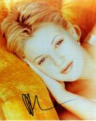Drew Barrymore Autographed Laying Down Signed 8x10 Photo AFTAL