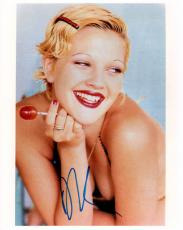 Drew Barrymore Autographed Signed 8x10 Photo AFTAL