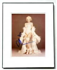 Drew Barrymore Autographed Signed Framed Fur Coat Photo UACC RD AFTAL