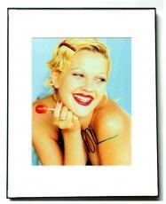 Drew Barrymore Autographed Signed Framed Lollipop Photo UACC RD AFTAL