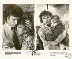 Drew Barrymore Heather Locklear David Keith Signed Firestarter 8x10 Photo PSA