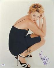 Drew Barrymore Certified Authentic Autographed Signed 16x20 Photo PSA/DNA